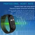 2017 Más Reciente de Smart TalkBand A16 Pulsera Inteligente Bluetooth IP67 Sleep monitor de frecuencia cardíaca Podómetro Pulsera A16 Para Android IOS
