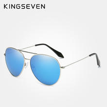 KINGSEVEN fashion men ladies driving polarized pilot style sunglasses retro candy color classic brand design sunglasses