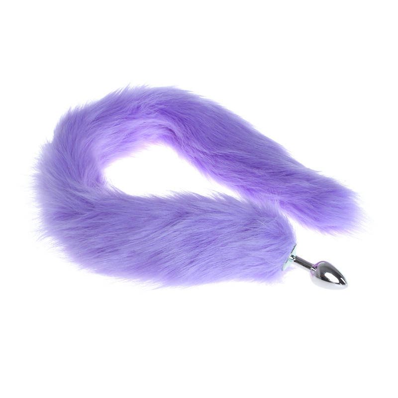 Sex Toy Faux Fox Tail Butt Anal Plug Erotic Romance Games Funny Adult Product