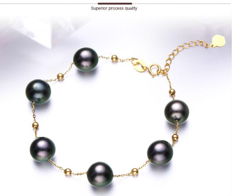 gold pearl bracelets 22