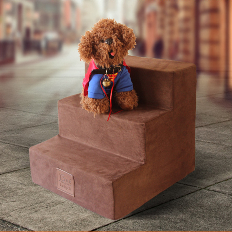 3 Steps Dog Stairs Cat Staircase Breathable Anti slip Waterproof font b Pet b font Climbing
