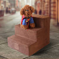 3 Steps Dog Stairs Cat Staircase Breathable Anti-slip Waterproof Pet Climbing Ladder Bed Cushion Mat Dogs Puppy Cat Dropshipping
