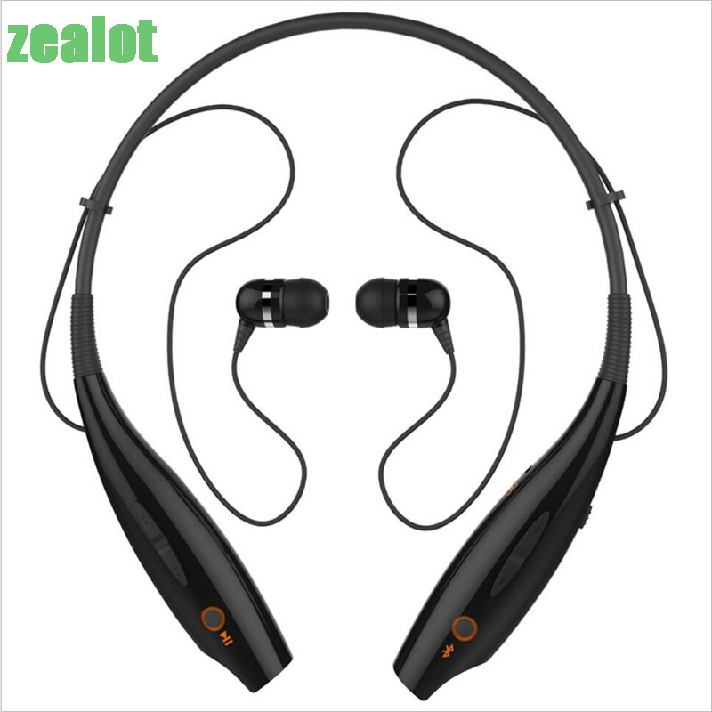 Zealot B9 Sport Bluetooth Headset Tube Stereo Headset Cheap Earphone Bluetooth Ear Buds Wireless Headset Hifi With Mic Universal universal led sport bluetooth wireless headset stereo earphone ear hook headset for mobile phone with charger cable