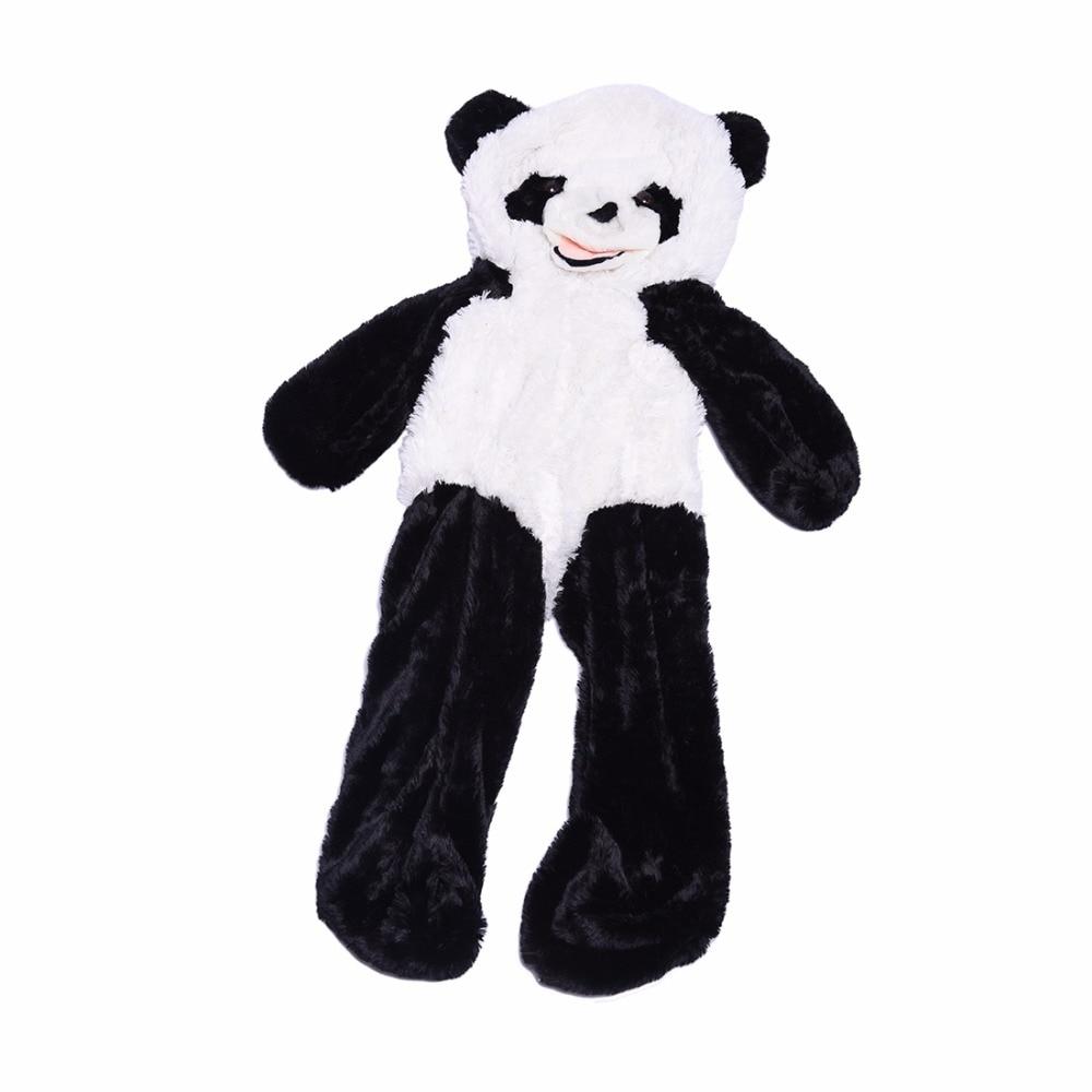 Adorable Giant Panda Skin Unstuffed Empty Teddy Bear  Panda Bear Skin Plush Toys