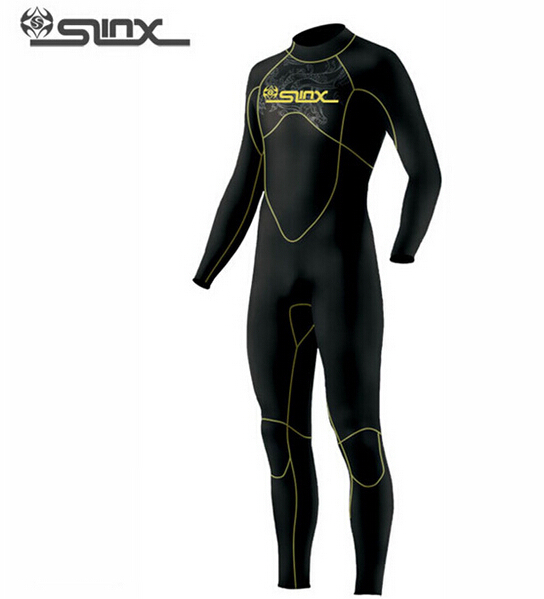 SLINX DISCOVER 1106 5mm Neoprene Men Scuba Diving Suit Fleece Lining Warm Wetsuit Snorkeling Kite Surfing Spearfishing Swimwear