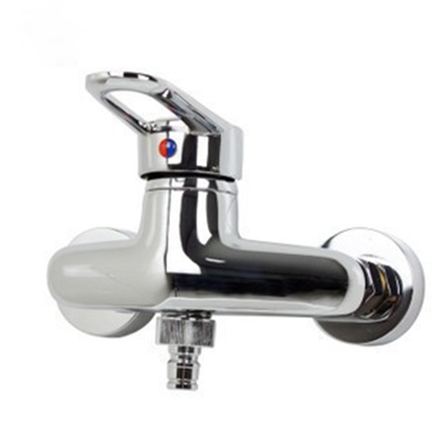Hot and cold water faucet for outdoor sink - Huici Brass Hot Cold Water Garden Outdoor Faucets Washing Machine Connector Tap Bibcock Laundry Utility Faucets Robinet