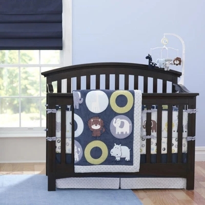 7 piece bedroom newborn baby crib bedding set for boys,Reactive and 3D embroidery quality infant cot nursery bedding plush quilt