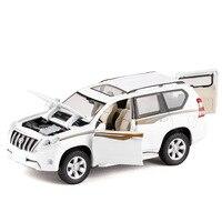 Brand New YJ 1 32 Scale Car Model Toys JAPAN Toyota Prado SUV Sound Light Diecast