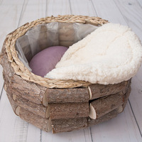 Newborn Photography Props Posing hair Baskets Cushion Bath Baby Photoshoot Accessories Photo Shoot Backdrop