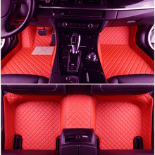 Custom fit car floor mats for Nissan all 2007 Rouge X-trail T31 T32 Murano 3D all weather car-styling carpet  custom fit car floor mats for dodge journey jcuv caliber 3dcar styling heavy duty all weather protection carpet floor liner