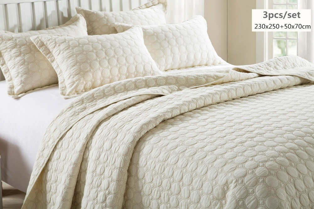 Aliexpress Com Buy Beige Color Oversize Bedspread