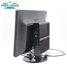 Mini pc i7 Barebone HTPC Nuc Fanless Computer Broadwell 5Gen Core i7 5550U Graphics 5500 Wifi