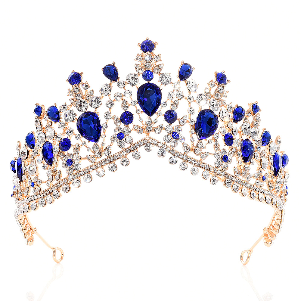 Sell like hot cakes bride crystal crown Wedding accessories Party supplies