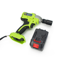 Brushless/ Cordless Electric Wrench Impact Socket Wrench 18 88V 12000mAh Li Battery Hand Drill Installation Power Tools