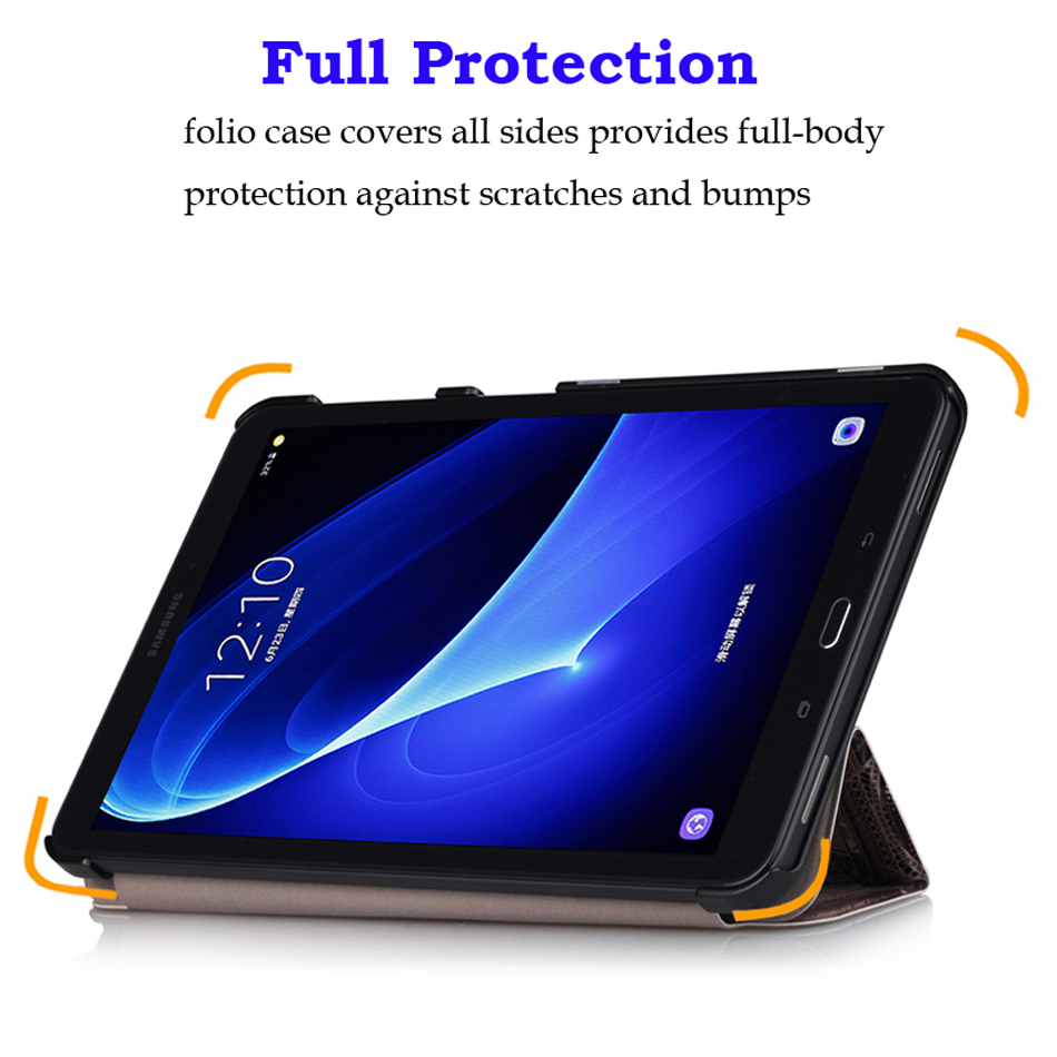 Slim Magnetic Folding Case Cover for Samsung Galaxy Tab A6 10 1 2016