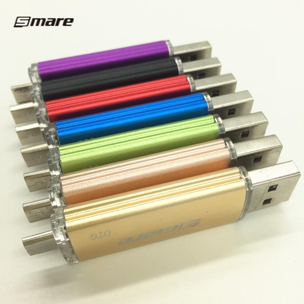Smare otg Flashdisk USB Flash Drive Smartphone 16GB32GB / 64GB / - Penyimpanan eksternal - Foto 5