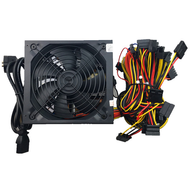 1600W Power ATX 1600w pc power supply ATX Miner Power PSU ATX Mining Machine Support 6 Pieces Graphics Card GPU Miner Antminer  5