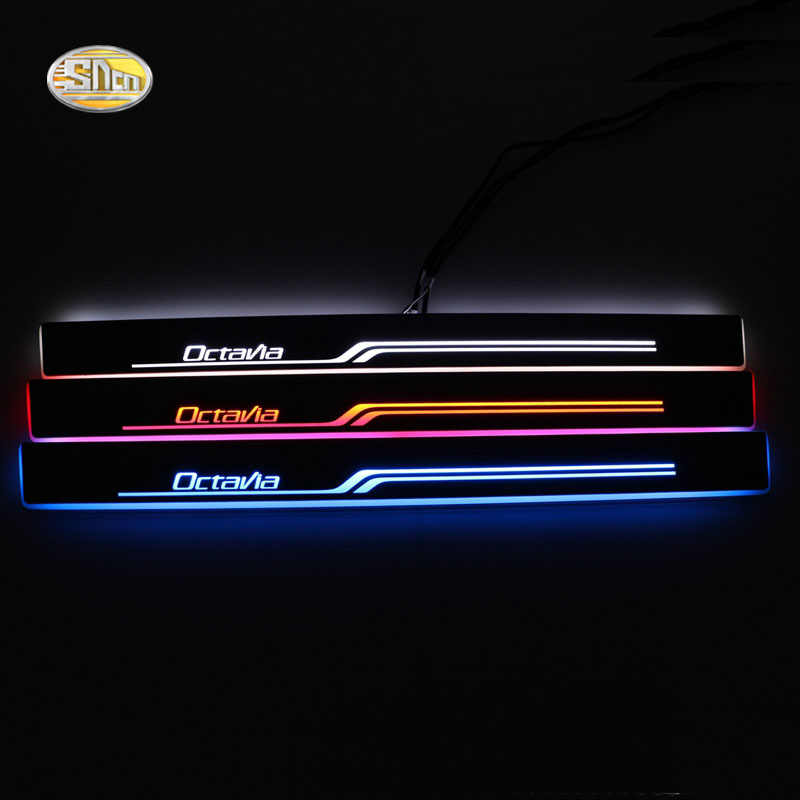 Skoda Door Sills 5E0071303 Front Rear Black ledges Door Sills