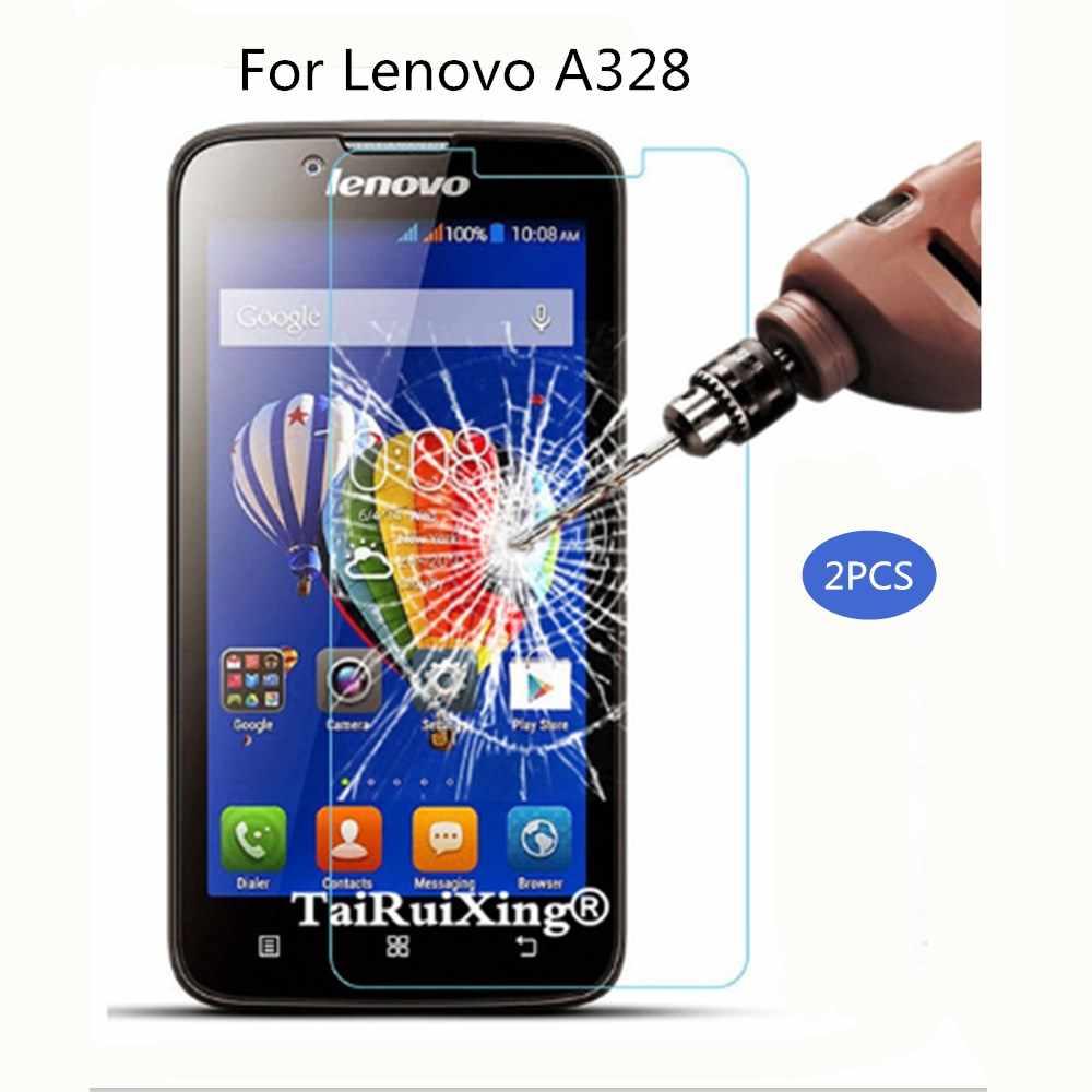 Tempered Glass Đối Với Lenovo A328 Bảo Vệ Màn Hình 2.5D 0.26mm 9 H Bảo Vệ Film Đối Với Lenovo A328 MỘT 328 Tempered thủy tinh