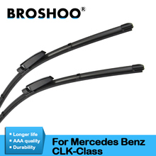 BROSHOO Auto Car Windshield Wiper Blade Rubber For Mercedes Benz CLK Class W209 C209 2002 2003 2004 2005 2006 2007 2008 2009 27 27 pair windscreen wiper blades for mercedes benz s class w220 2001 2002 2003 2004 2005 windshield car accessories