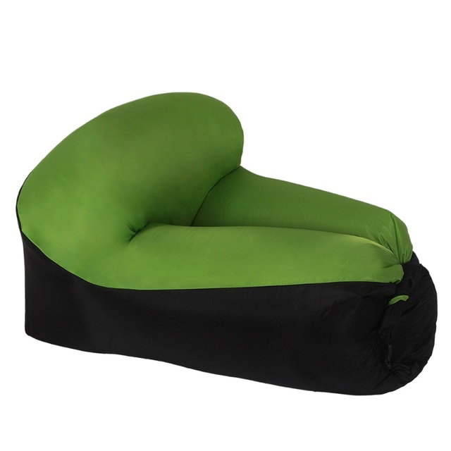 air bag chair mid century rattan hoop sleeping rest bags sofa outdoor camping portable fast inflatable lazy beach bed hammock