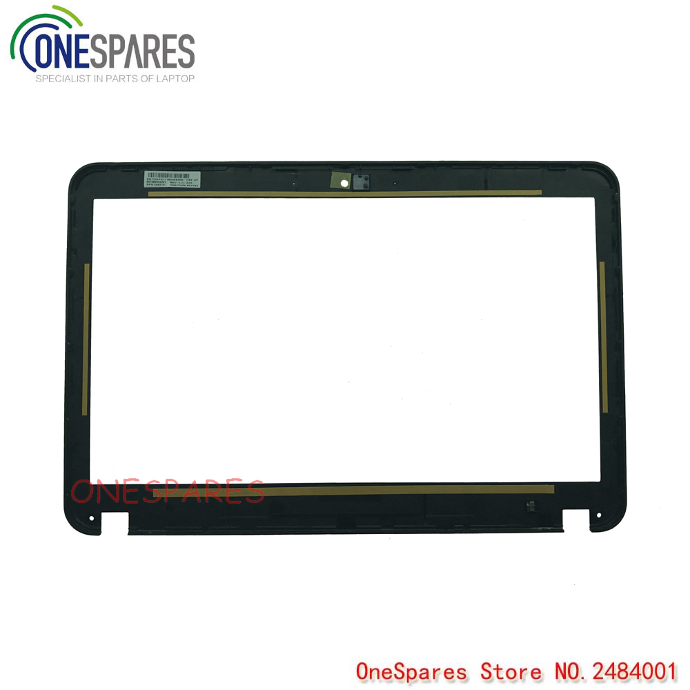 New Laptop LCD Front Bezel Cover For HP DM4 DM4-1000 DM4-2000 Series Non touch Frame 6070B0493201 636938-001 new original laptop lcd plamrest touchpad case cover for dm4 dm4 1000 dm4 2000 series keyboard c shell 6070b0487901 636946 001