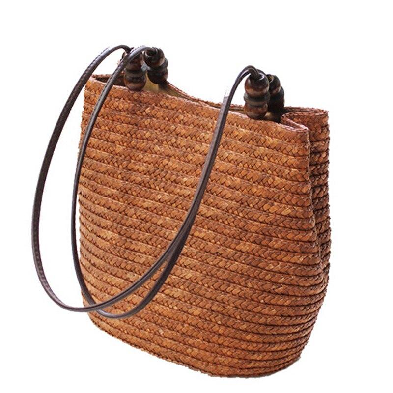 2017 New Vintage Women Handbag Fashion Shopping Tote Beach Bag Vintage Casual Bu