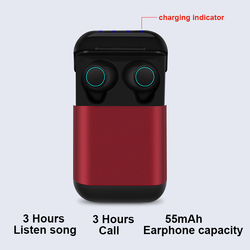 YULUBU S7 Bluetooth TWS Earbuds Wireless Bluetooth Earphone Stereo Headset Bluetooth Earphone With Mic Charging Box