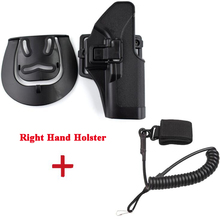 Tactical Gun Carry Case Glock 17 19 22 23 31 32 Belt Holster With Sling Accessories Right Hand