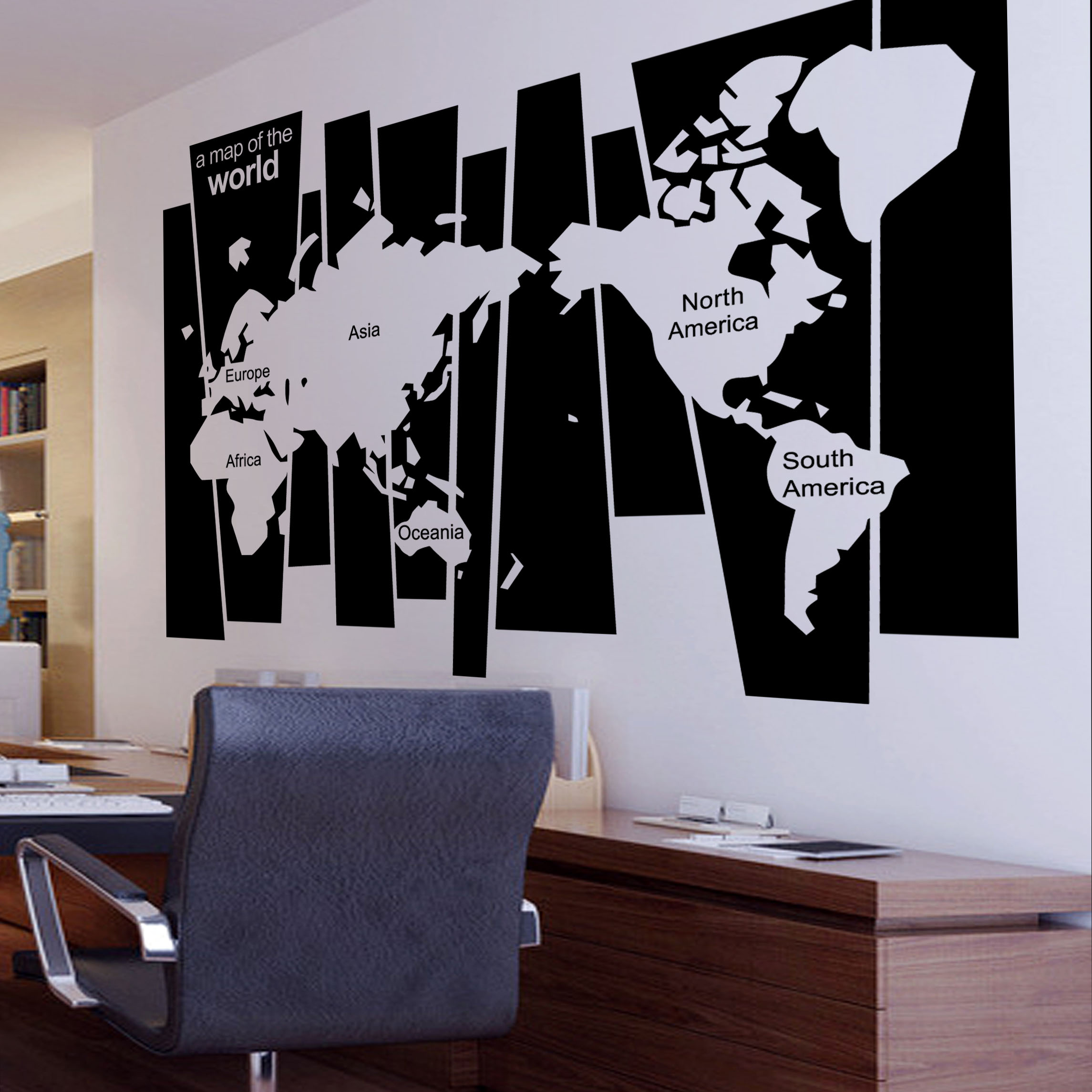 2018 new arrival world map wall sticker map of world wall decal home 2018 new arrival world map wall sticker map of world wall decal home decoration map of the world office school wall decals in wall stickers from home gumiabroncs Image collections