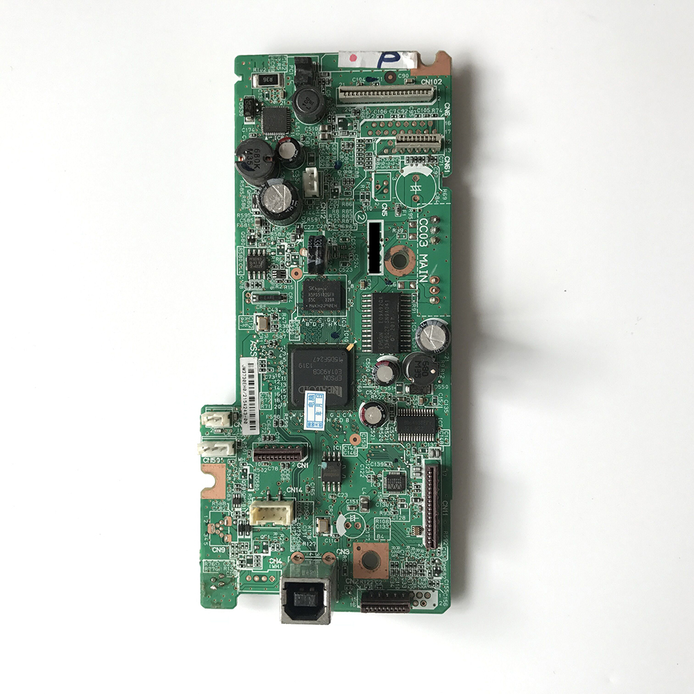 Original Main board Motherboard For Epson L558 printer 100% tested for washing machines board xqsb50 0528 xqsb52 528 xqsb55 0528 0034000808d motherboard on sale