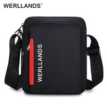 Werllands Водонепроницаемый плеча Сумки для мужчин повседневная сумка-мессенджер Сумки для Ipad лучшие продажи сумка Элитный бренд офисные Сумки