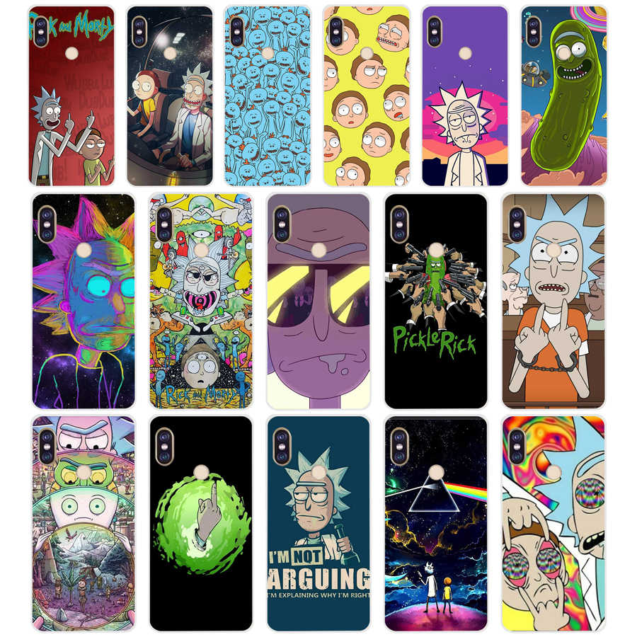 99 ZX Rick And Morty TPU Soft Silicone Phone Case for Xiaomi Redmi Note 4 4X 5 7 6 pro plus a2 lite Cover