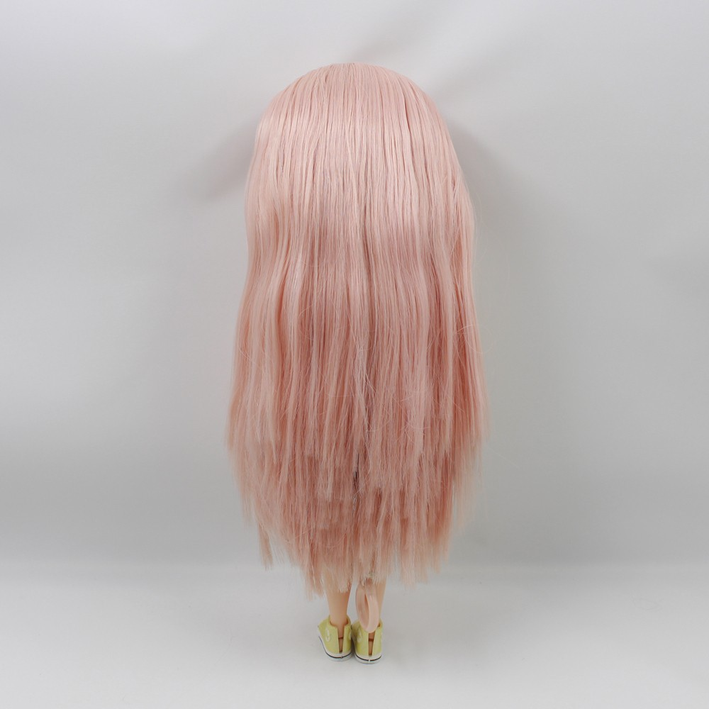 Icy Neo Blythe Doll Champagne Pink Hair Jointed Body 30cm