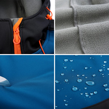 Winter Waterproof Softshell Jacket
