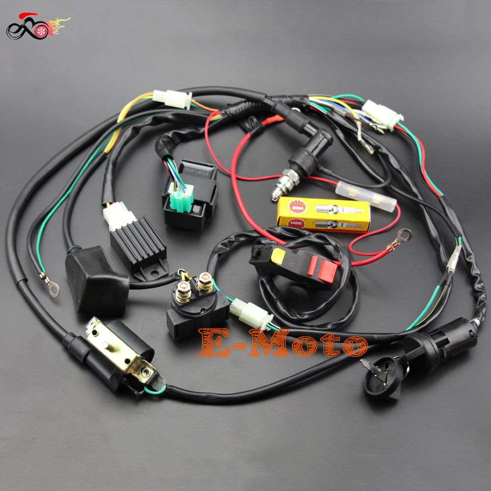 Old Fashioned Pit Bike Wiring Harness Diagram Images - Electrical ...