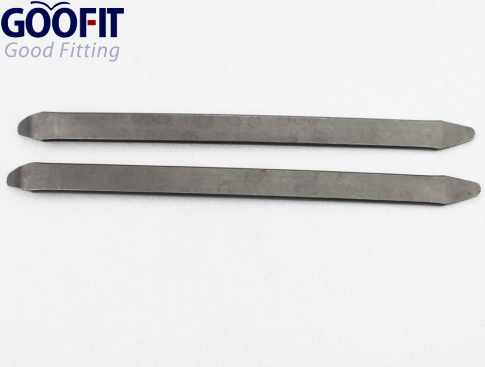 GOOFIT Tire Crowbar Spoons Tool One Pair 30cm for ATV Motorcycle Scooter Go kart Pocket Bike Dirt Bike accessory A012 012
