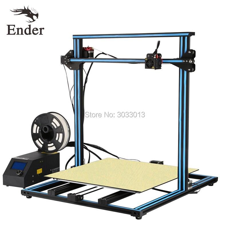 2018 CR-10s 4S 5S 3D Printer DIY KIT Dual-Leading-screws Rod,large print size Filament Monitoring Alarm n Filament Creality 3D