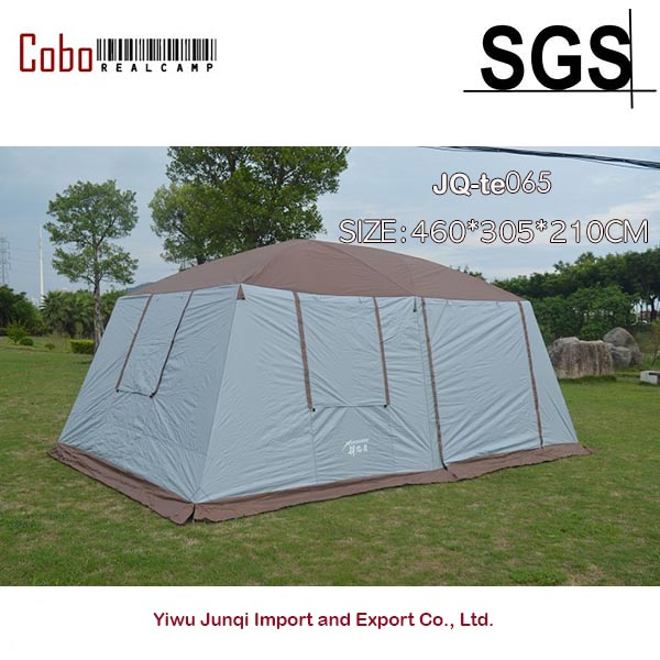 WeatherMaster 10-Person 2-Room Family Outdoor Tent Double Layers Cabin Shelter Hiking Camping Tent | 16' x 10' waterproof party family tent 6 8 10 12 outdoor camping tent sun shelter party family hiking camping tent