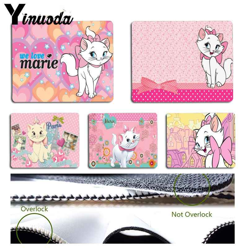 Yinuoda New Printed The cartoon Aristo Cats Marie Cats Laptop Gaming Mice Mousepad Size for 180x220x2mm and 250x290x2mm