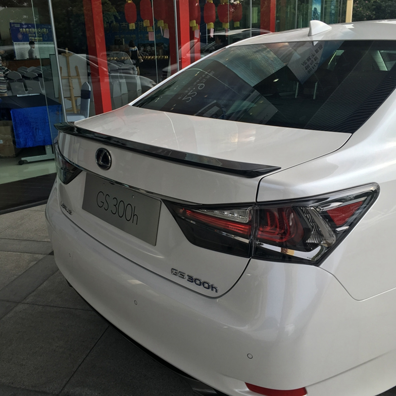 For <font><b>LEXUS</b></font> GS 200 <font><b>250</b></font> 300 350 450 model spoiler new design 2013 <font><b>2014</b></font> 2015 2016 2017 2018 to up by primer or DIY color paint image