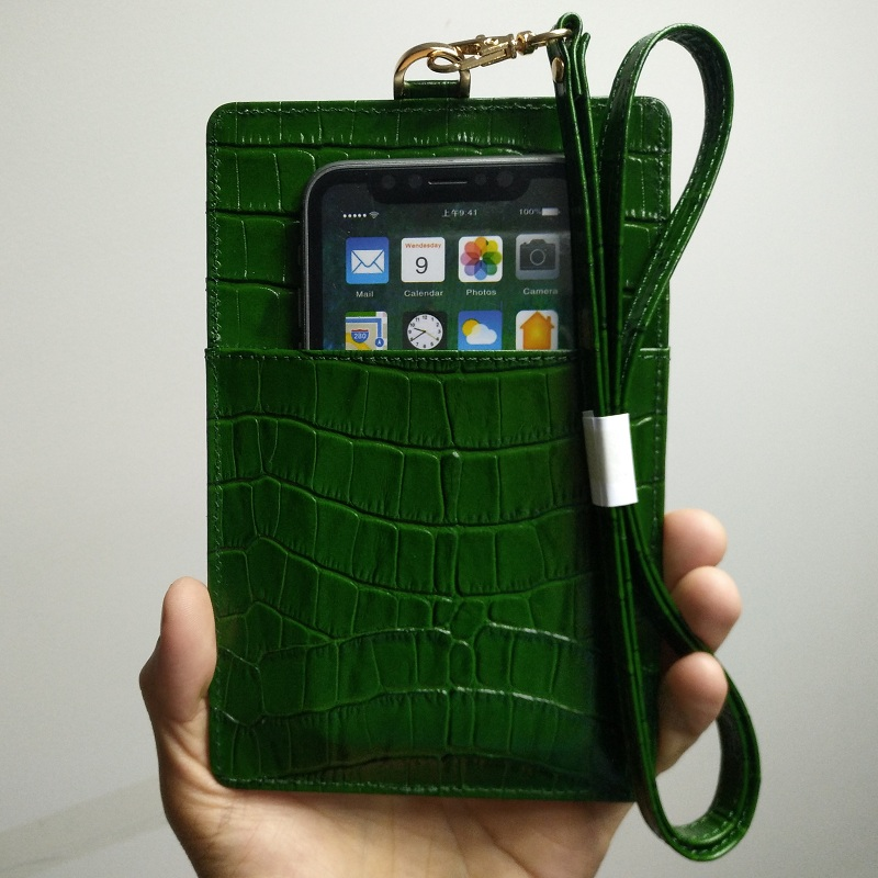Genuine Leather Card Holder Pouch Phone Case For iPhone X XS Max XR 6 6S 7 8 Plus Luxury Crocodile Strap Thin Slim Bag CoverGenuine Leather Card Holder Pouch Phone Case For iPhone X XS Max XR 6 6S 7 8 Plus Luxury Crocodile Strap Thin Slim Bag Cover