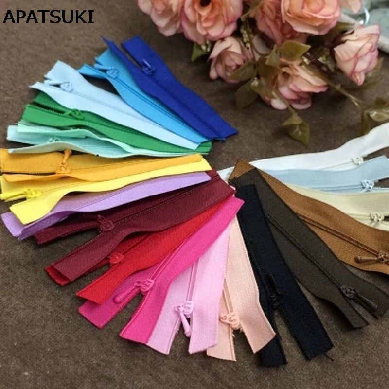 10pcs/lot Mini Zipper Doll Clothing Zipper No.#0 10cm DIY Handmade Sewing Scrapbooking Garment Applique DIY Clothes Accessory цена 2017