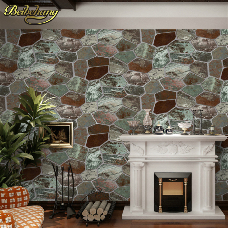 Excepcional plantilla de papel de ladrillo motivo for Papel pared efecto piedra