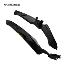 CoolChange 26 Bike Fender Bicycle MTB Front Rear Fenders Bike Guard Cycling Flectional Mountain Mud Road Mudguard Accessories