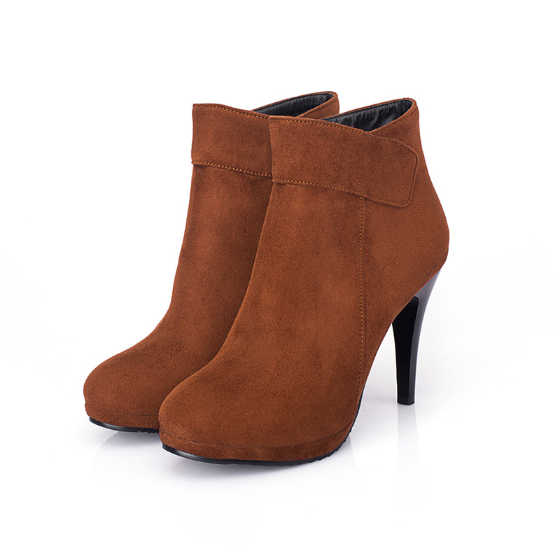 Popular Short Brown Boots-Buy Cheap Short Brown Boots lots from ...