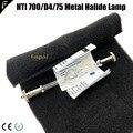 Совместимость для сценического освещения 13,5 см HTI 700/D4/75 металлогалогенные лампы этапа Moving головной светильник лампочка ватт 700w hti700 7500k