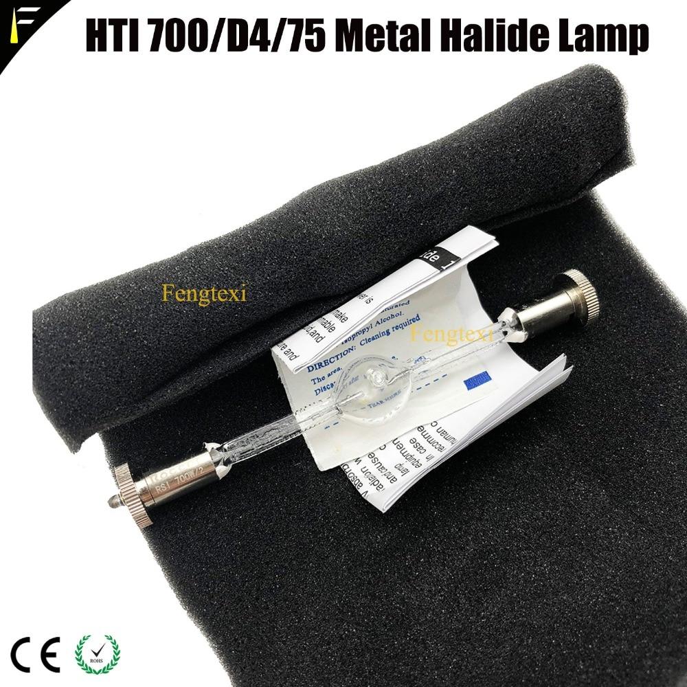 Compatible Stage Lamp 13.5cm HTI 700/D4/75 Metal Halide Lamp Bulb Stage Moving Head Light Bulb Watt 700w Hti700 7500k