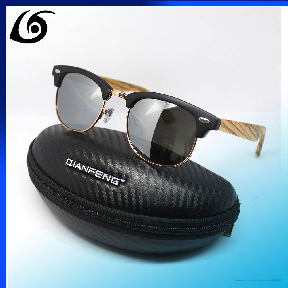 ebcb1d98a 4711 Cat eye Classic Bamboo Sunglasses Men Mirrored Prolarized Brand Wood  Sun Glasses For Women Original Wooden Oculos De Sol-in Sunglasses from  Women's ...