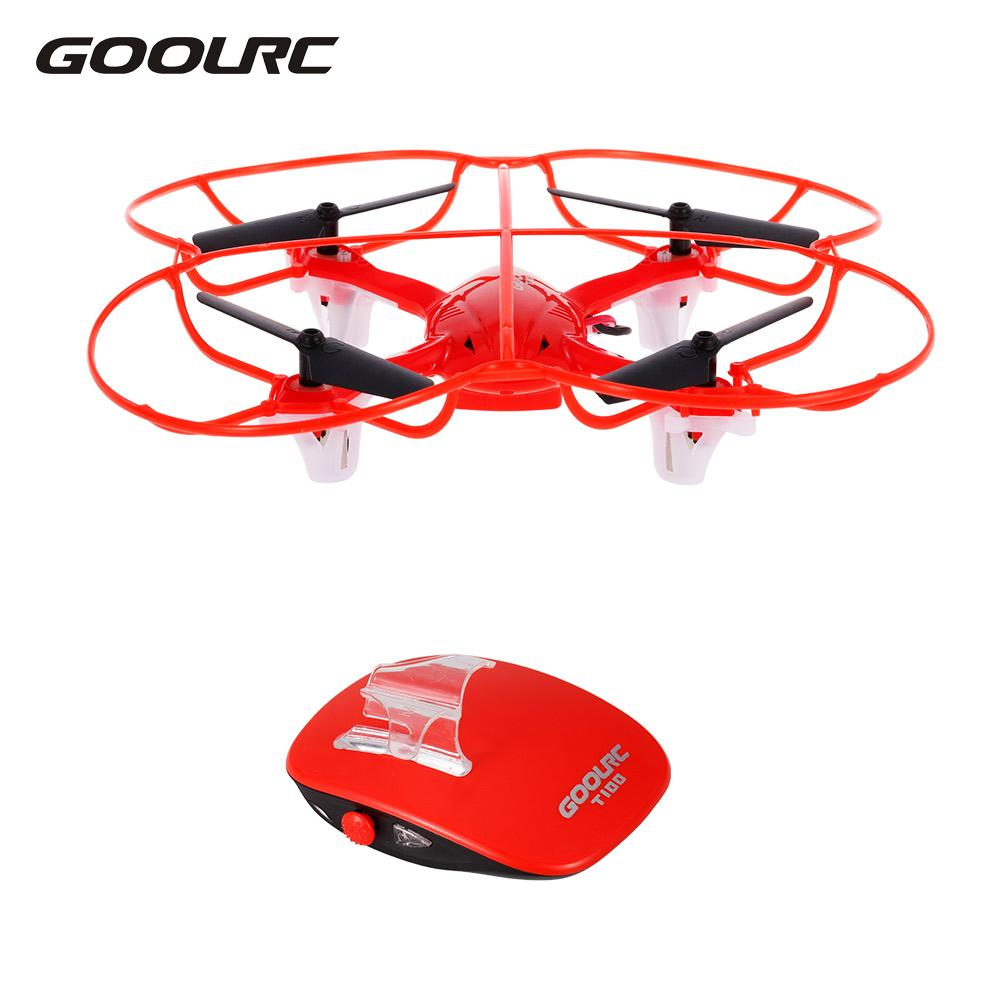 GoolRC T100 RC Dron Quadcopter 2.4GHz 360 Flip Gesture Remote Control One-key Smart Control Helicopters Toys Children Adult